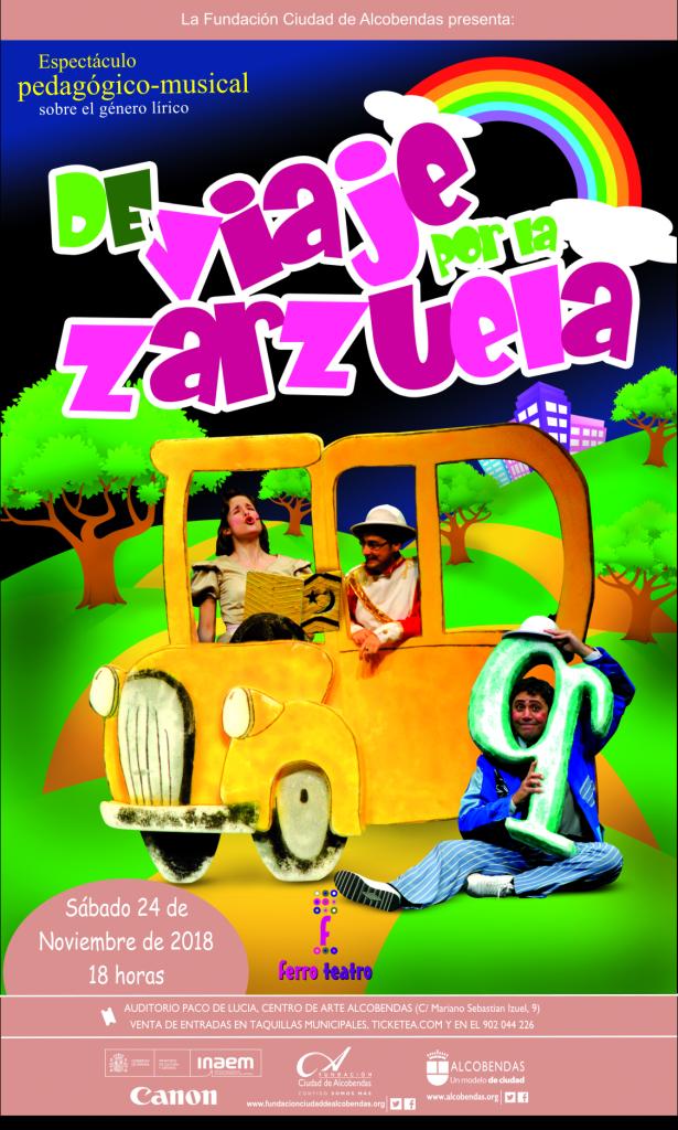 Cartel De viaje por la Zarzuela